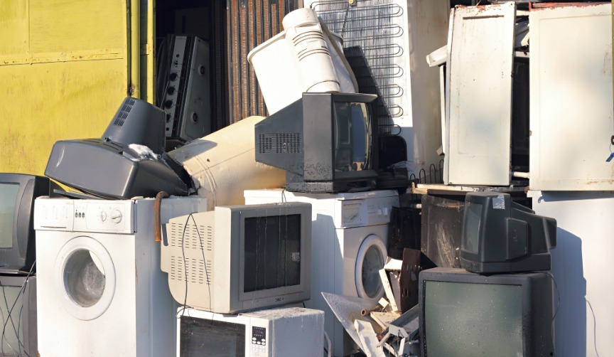 broken household appliances