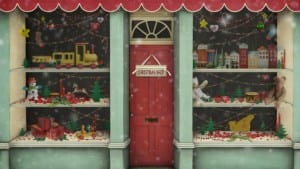 toy shop at christmas