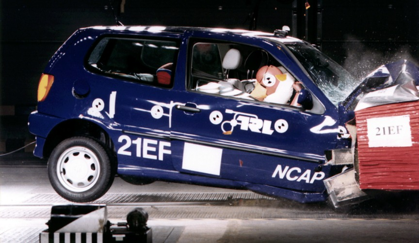 First-ever Euro NCAP crash safety test
