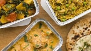 Takeaway Indian food
