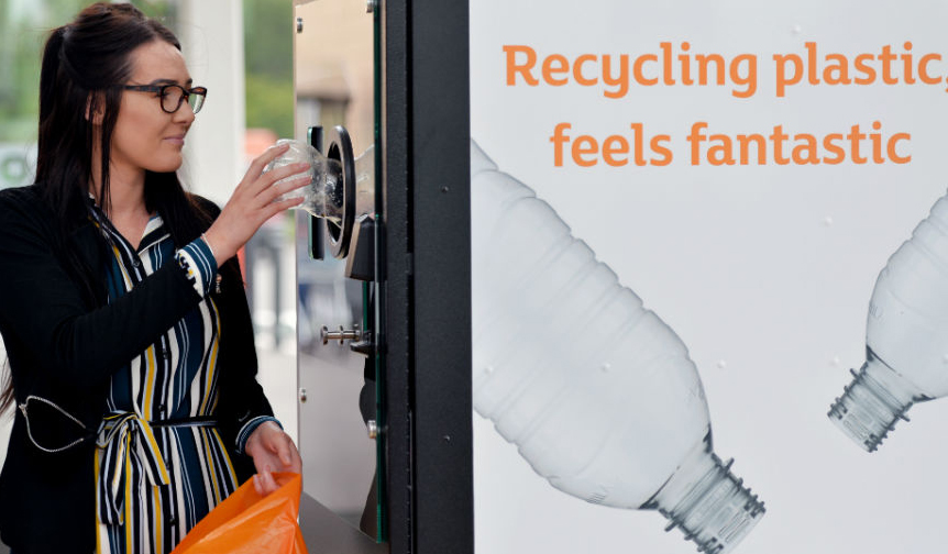 Will you be using reverse vending machines?