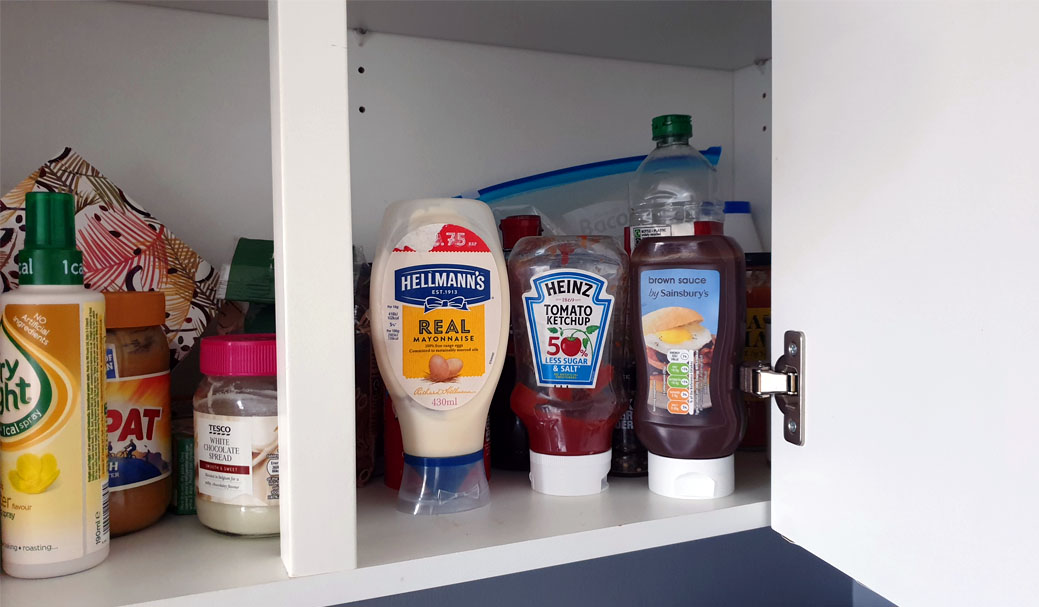 How do you manage your condiments?