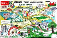 the Visual Minutes of the National Trade Conversation in South Wales